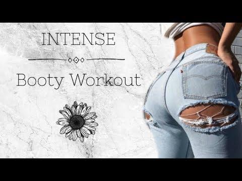 Intense Butt Workout - 10 min Booty Burn At Home (No Equipment)