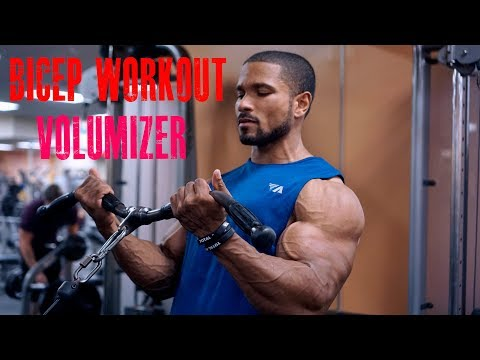 BICEP WORKOUT- VOLUMIZER-FULL WORKOUT