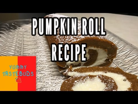How to Make a Pumpkin Roll By Yummy Tastebuds