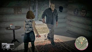 INCREIBLE LUCHA VS JASON! - FRIDAY THE 13th: THE GAME