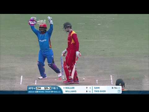 ICC #WT20 Afghanistan vs Zimbabwe Match Highlights