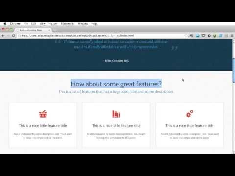 PSD to HTML - Lesson 16