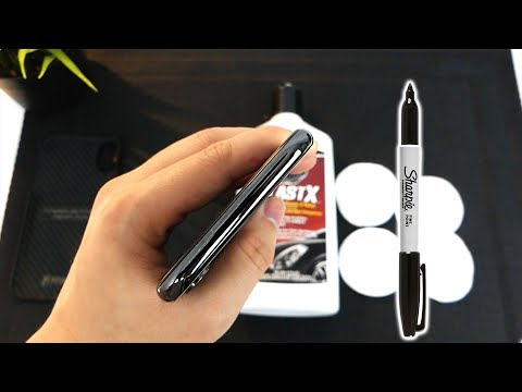How to Remove Scratches on Your Space Grey iPhone X Bezel