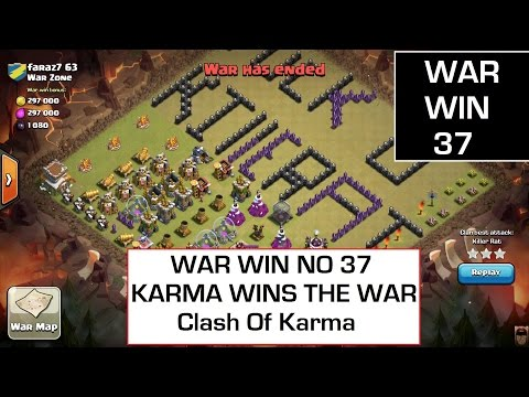 Clash Of Clans Karma Wars VS War Zone There Leader Gets Banned