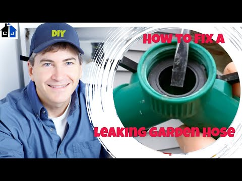 Leaking Garden Hose Repair