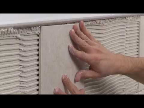 How to choose the appropriate profile size in relation to your tile