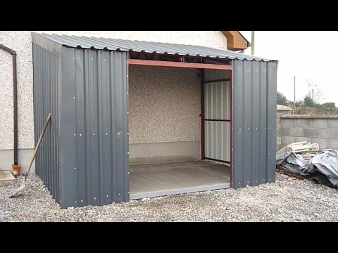 Building a  LEAN - TO - SHED