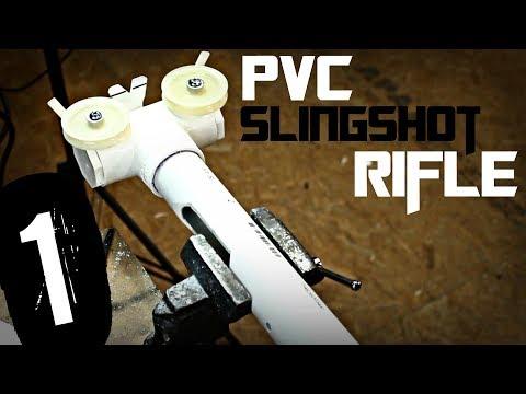 PVC Slingshot Rifle (build challenge) | Part 1
