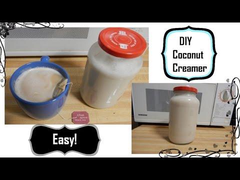Healthy simple amazing coconut creamer recipe*