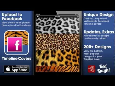 Skin Your Facebook Cover Photo With This Great App!