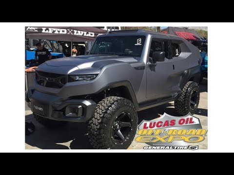 Off Road Expo 2017 Pomona California : nothing but off road vehicles