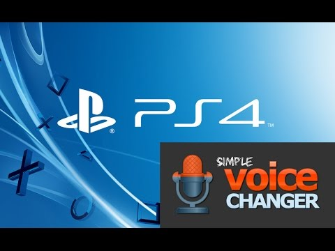 How To Change Your Voice on PS4(Phone Edition)