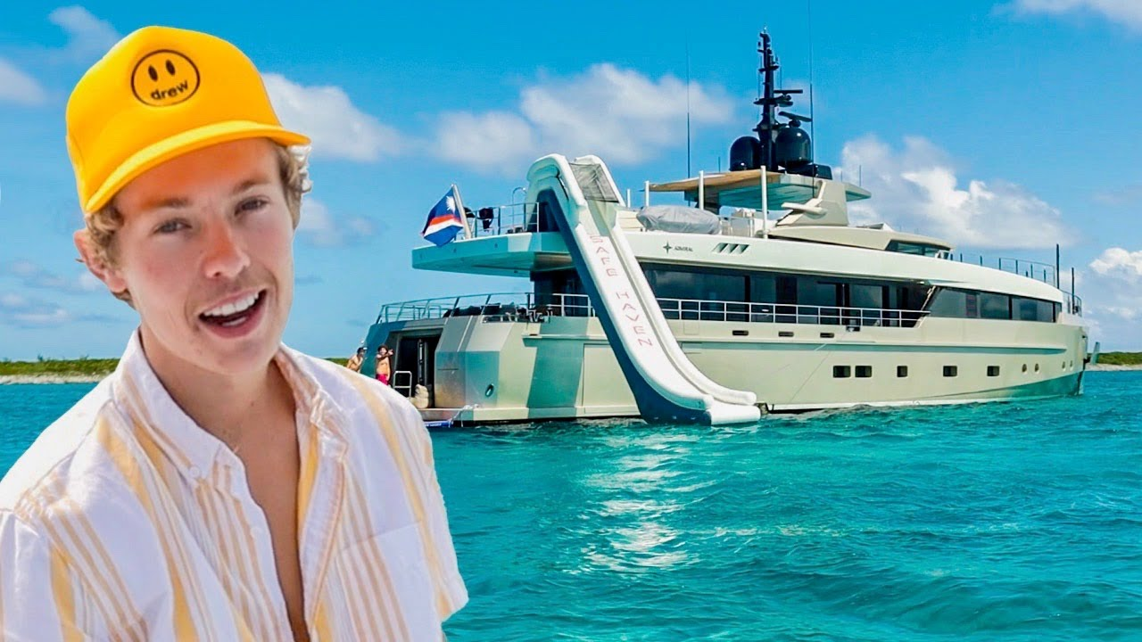 This Vacation Cost Over $1,000,000 (Mega Yacht)