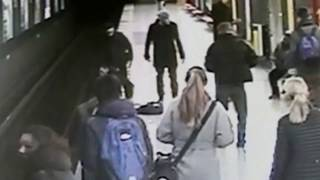 ITALY. Two-year old boy saved by teenager from metro train tracks