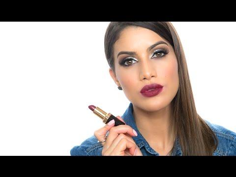 Top 5 Lipsticks in Burgundy and Purple | Makeup Tutorials and Beauty Reviews | Camila Coelho