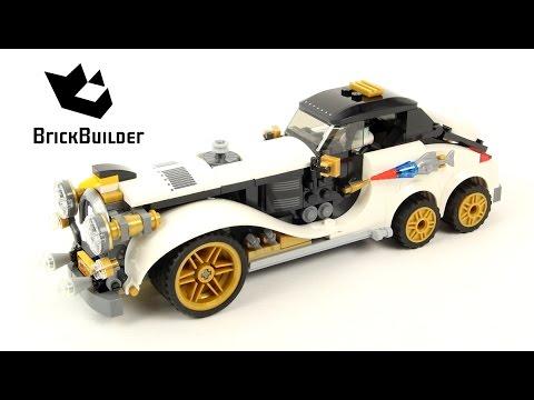 Lego Batman Movie 70911 The Penguin Arctic Roller - Lego Speed Build