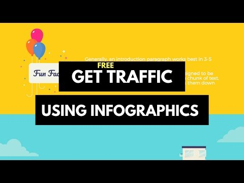 Get Traffic To Your Website For Free Using Infographics