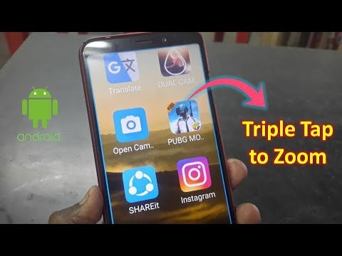 How to Enable Triple Tap to Zoom Android Phone Screen in HindiUrdu