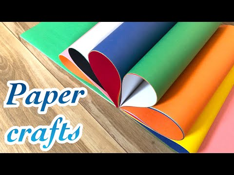 Top 6 DIY crafts for kids-easy paper crafts#trending 2018 - cool and creative #124