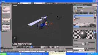 Simple Helicopter AI in Blender 3D Game
