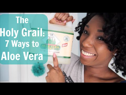 ♡ Holy Grail Product: 7 Ways to Use Aloe Vera ♡