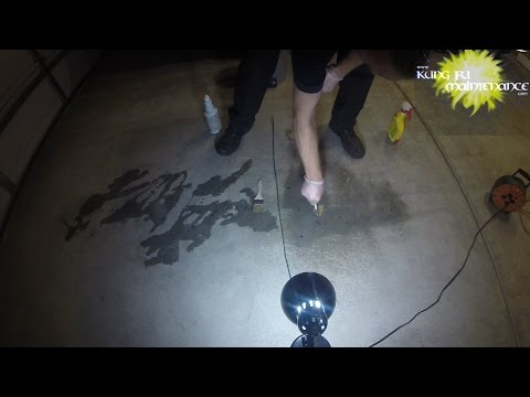 Goof Off Vs Lift Off Challenge Test Which Is Better To Remove Paint Drips From Concrete Garage Floor