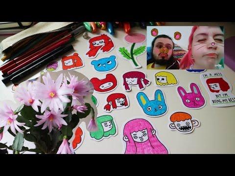 hamster, stickers, tea ~ my week vlog
