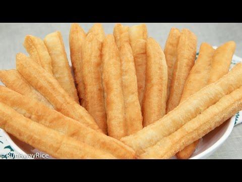 Fried Breadsticks (Dau Chao Quay, Youtiao, Patongko)