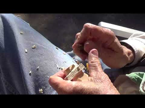 Whittling The Minature Slave Dairy Farmer Part 1
