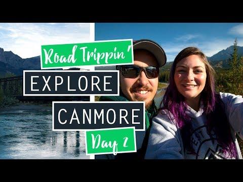 Exploring Canmore, Alberta // Road Trip Day 2 // CANADA