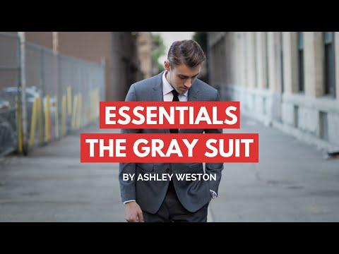 The Gray Notch Lapel Suit - Men's Wardrobe Essentials