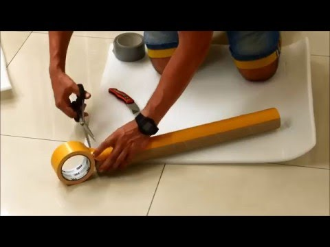 How to Make A Foam Roller (with Office Waste)