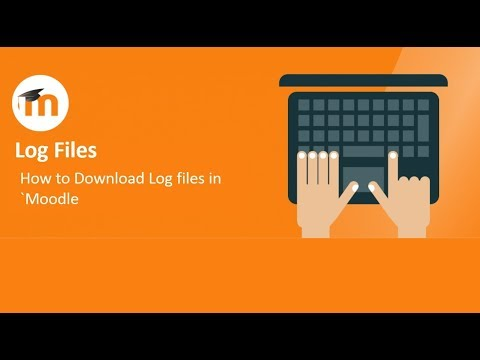 How to Download Log Files in Moodle