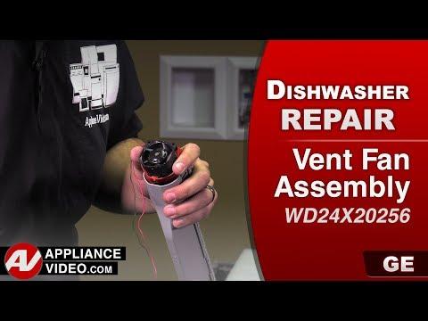 GE Dishwasher - Vent Fan Assembly problem -  Diagnostic & Repair