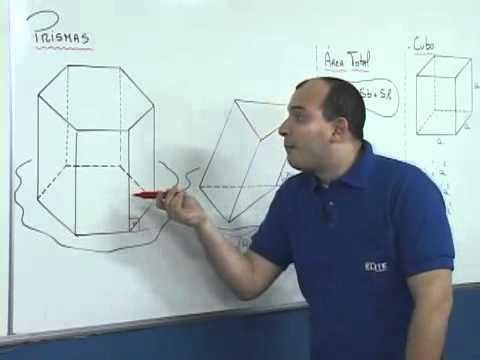 Como Calcular a Área e Volume de Prismas