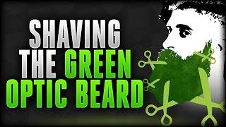 SHAVING THE GREEN OPTIC BEARD