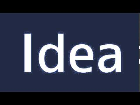 How to say Idea in Spanish