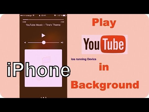 How to Play Youtube Music in Background on iPhone