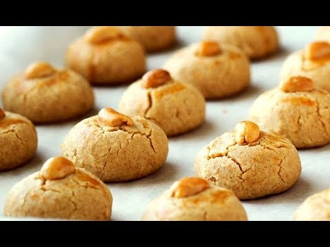 Best Peanut Cookies Recipe made at Home (MELT IN YOUR MOUTH)