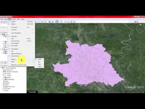 How to convert shapefile to google earth kml file
