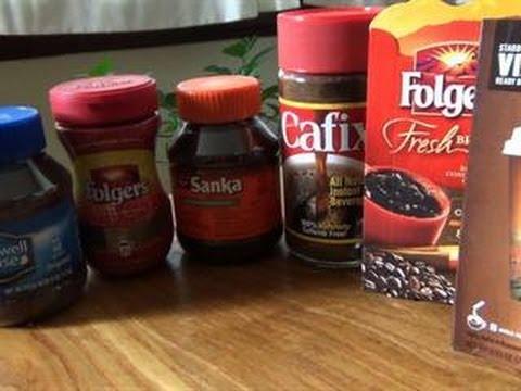 5-in-3: Instant Coffee Taste-Off
