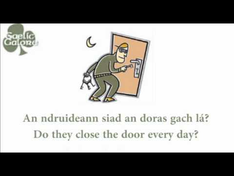 Learn Irish - Gaelic Galore Lesson 13 - Verbs in context