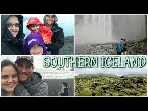 Tour of Southern ICELAND! Skógafoss Waterfall, Reynisdrangar, and Jökulsárlón   Day 2 Vlog