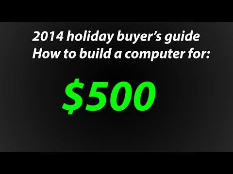 How To Build An AMD Console Killer Gaming Computer For $500 - December 2014