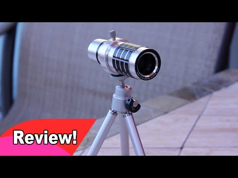 Review: 12x Optical Zoom Lens from Banggood for Samsung Galaxy Note II