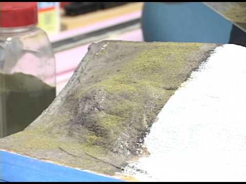 Model Railroader basic training video: How to make model railroad scenery