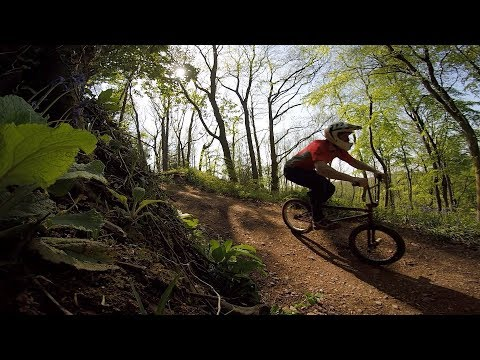 COULD YOU MANUAL A BMX DOWN THIS ENTIRE HILL??  (DOWNHILL BMXING)