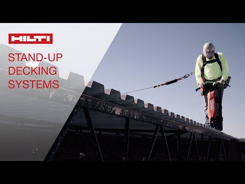 INTRODUCING the DX 9-HSN and DX 9-ENP stand-up decking tool