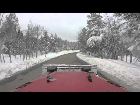 FJ40, 5 Feet and Snowblind