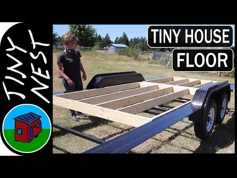 Building our Tiny House Floor (Ep.6)